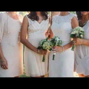 Women's cream dress
